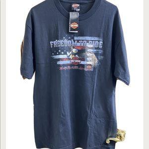 Harley Davidson Freedom Eagle T-Shirt Size Large